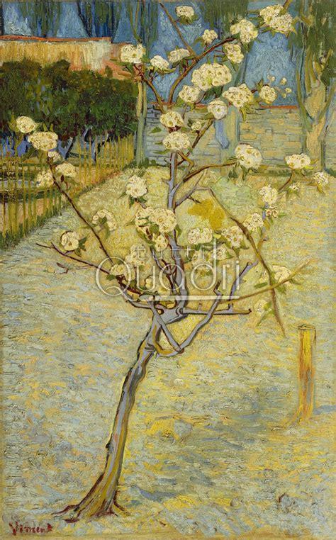 pero da fiore quadro quot pero in fiore quot di gogh albero fiorito