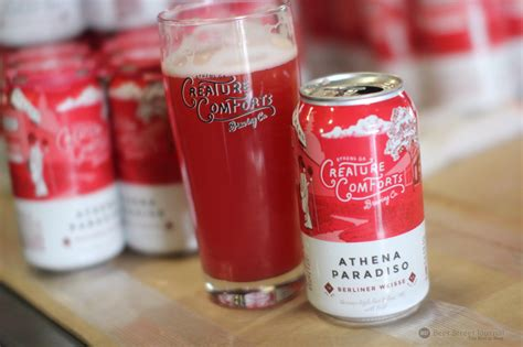 creature comforts beer creature comforts athena paradiso released in cans beer