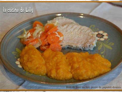 cuisine de lilly recettes de patate douce et porc