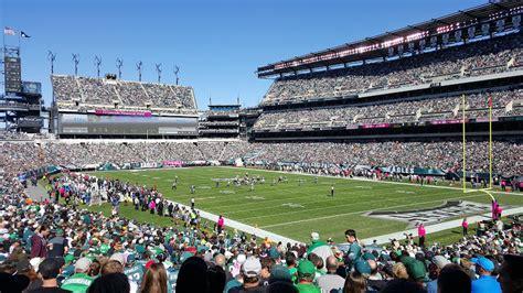 lincoln financial field bowl lincoln financial field philadelphia eagles stadium