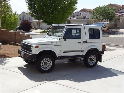 automobile air conditioning service 1992 suzuki samurai windshield wipe control find used 1992 suzuki samurai jl sport utility 2 door 1 3l dont miss this one in rio rancho new