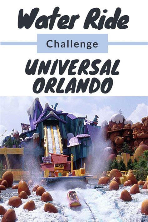 orlando challenges universal orlando water ride challenge