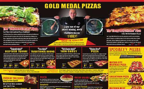 best pizza menu 10 tasty pizza menu designs
