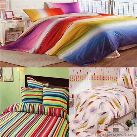 multi colored bedding multicolored bedding set home designs project