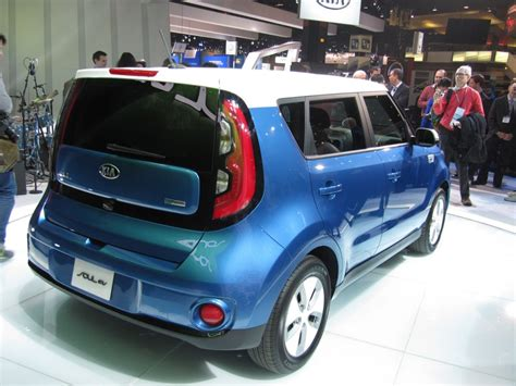 Kia Soul Ev 2014 2015 Kia Soul Ev Electric Car 93 Range 105 Mpge