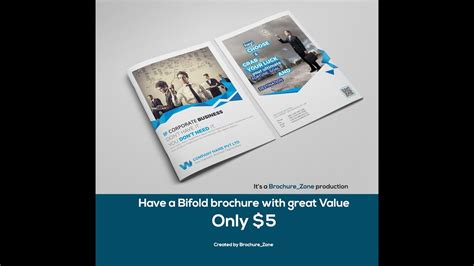 design expert cost design your bifold brochure with an indesign expert with