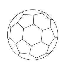 soccer ball coloring pages hellokids com
