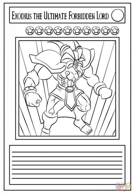 printable yugioh cards yu gi oh free colouring pages