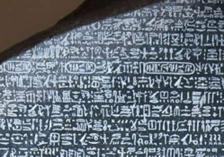 deciphering the rosetta stone who is chollion