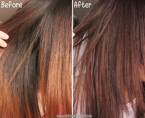 Etude Hair Colour review etude house hair coloring in wine