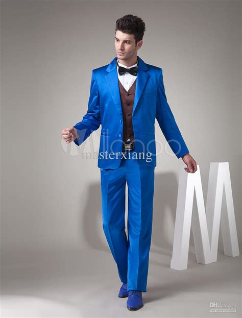 royal single breasted button worsted men suits