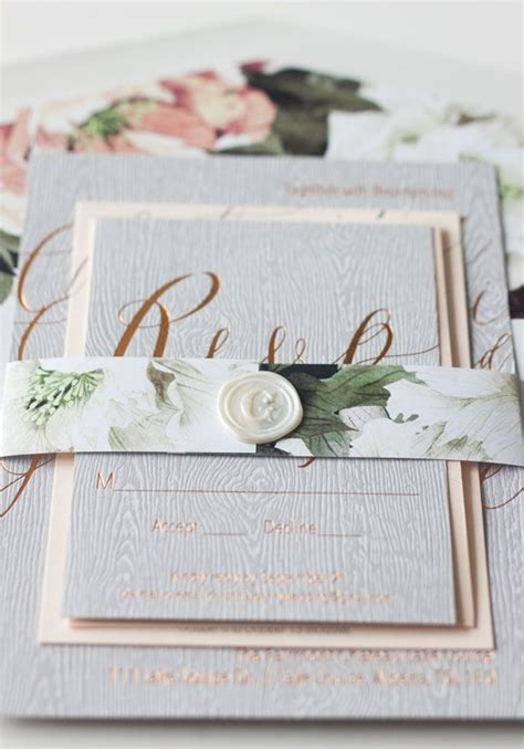 Printed Wedding Invitations Velum by 25 Best Ideas About Wood Invitation On