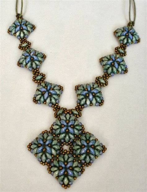 duo bead patterns 513 best images about superduo or necklace on