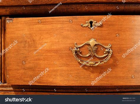 image of dresser handles antique dresser drawer with brass handle stock photo