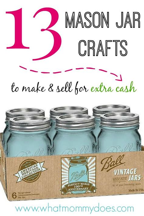 Where To Sell A by 13 Jar Crafts To Make Sell For