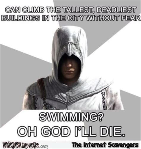 Funny Assassins Creed Memes - funny assassin s creed logic meme pmslweb