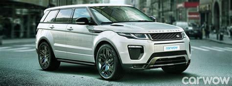 2018 range rover evoque 7 seater price specs release date