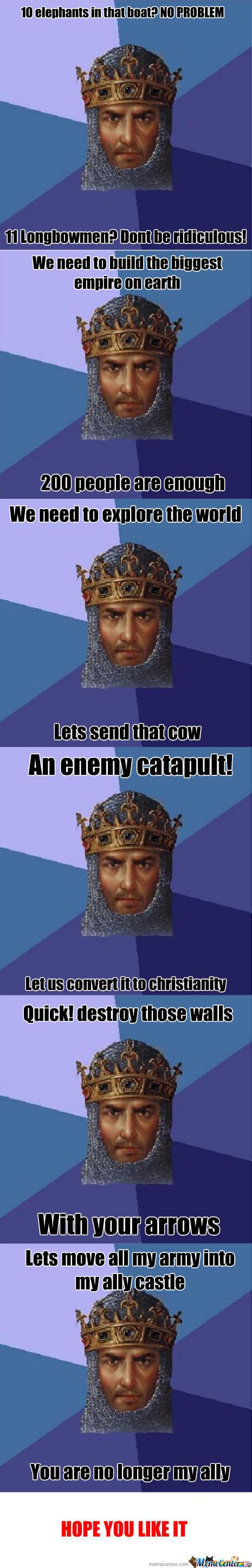 Age Of Memes - age of empires meme recopilation by francisco9622 meme