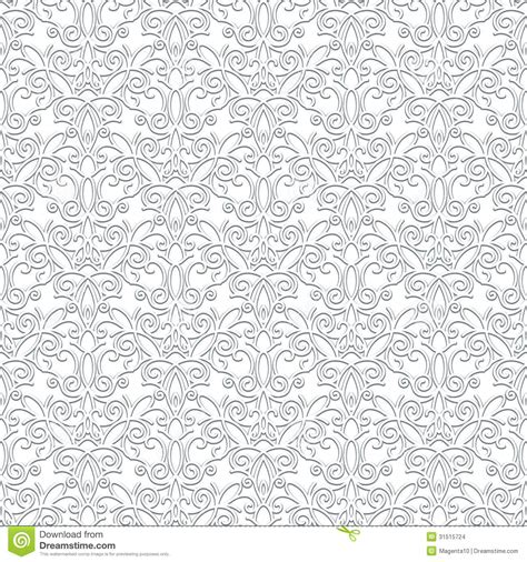 white vintage pattern white lace pattern stock images image 31515724