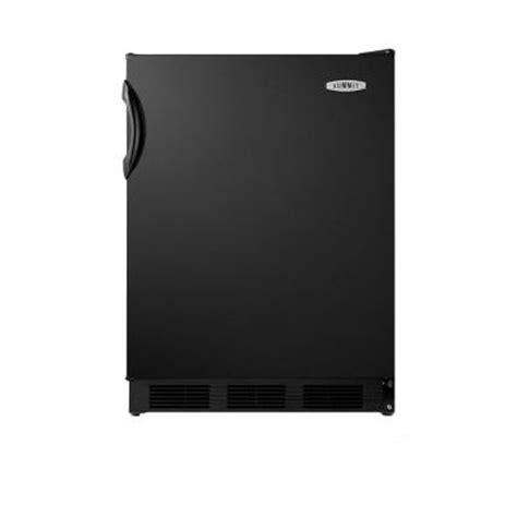 summit appliance 5 1 cu ft mini refrigerator in black