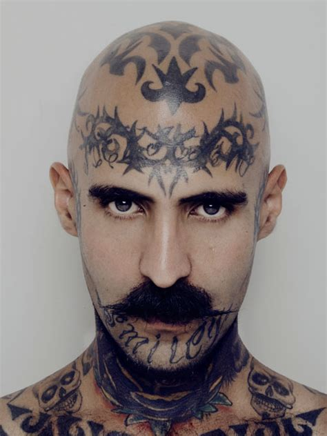 tattoo on neck gang intense portraits of mexico city men with tattooed necks
