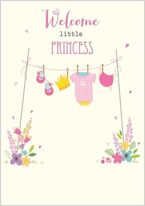 kali stileman new baby girl cards small baby cards baby pink cards