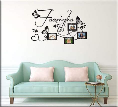 cornici murali wall stickers cornici foto famiglia arredo casa