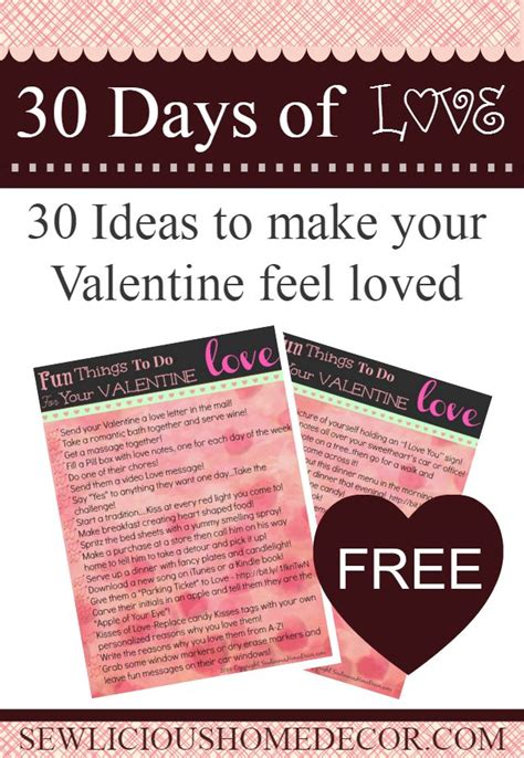 creative things for valentines day 30 and creative things to do with your