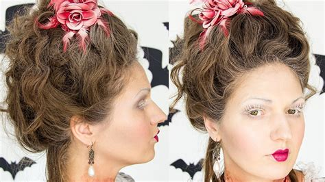 18th Century Hairstyles by Antoinette 18th Century Hair Tutorial