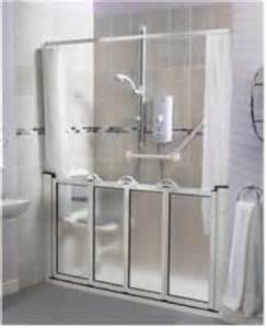 caregiver shower doors caregiver half height shower doors united disabilities