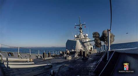 porto militare francese nave scirocco partecipa all esercitazione gabian con la
