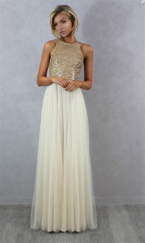 Gold Bridesmaid Dress by Gold Sequin Prom Dress Reviews Shopping Gold