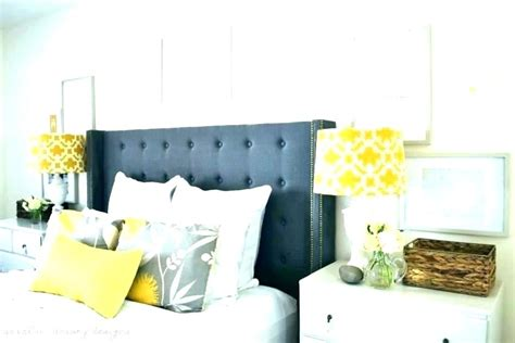 Yellow And Gray Bedroom Decor by Yellow Bedroom Decor Grey Yellow Themed Bedroom Decor