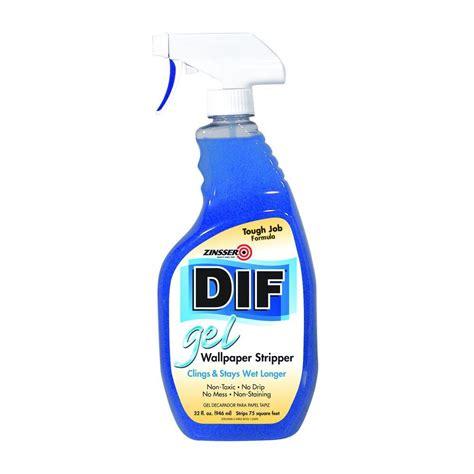 Zinsser 32 oz. DIF Gel Wallpaper Stripper Spray 2466   The