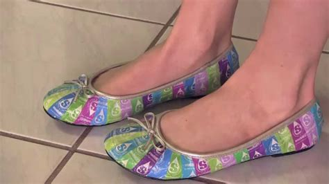 wrapper shoes how to starburst ballet flats