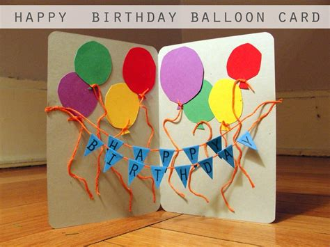 Birthday Cards To On Cute Diy Birthday Card Ideas