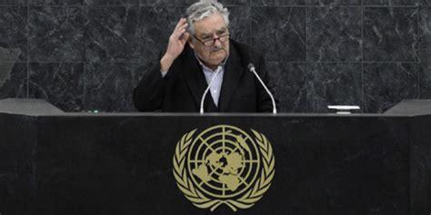 jos mujica presidente de uruguay en la onu el discurso presidente mujica ante la onu si la especie humana no