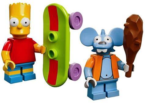 New Itchy Lego Minifigures The Simpsons No 13 Sse050 os simpsons na d 233 cima terceira s 233 rie de mini figuras lego blind box 171 de brinquedo
