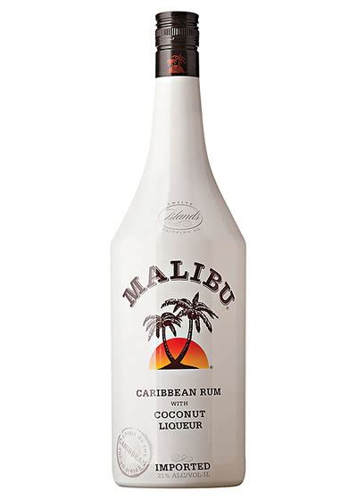 price of a bottle of malibu malibu coconut rum 1l liquor barn