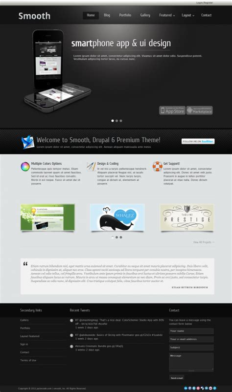 themes drupal premium 15 of the best premium drupal themes for developers