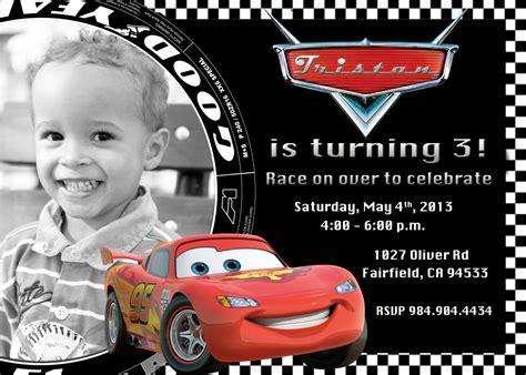 disney cars birthday invitation maker disney cars invitations cimvitation