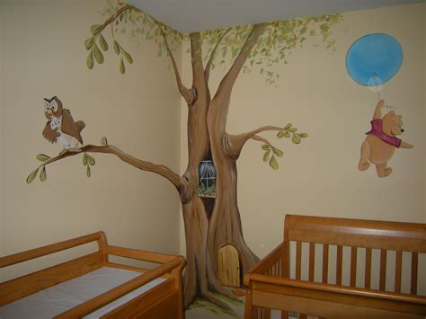 Winnie The Pooh Nursery Decorations Winnie The Pooh Baby Nursery Mural Welcome To My Flickr Ph Flickr