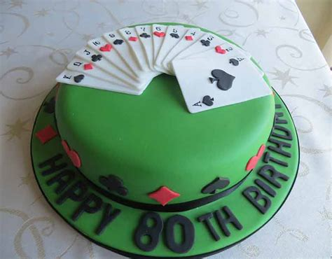 playing cards cake the dotty bakery - Gift Card Cake