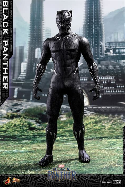 figure black panther new black panther 1 6 scale figure by toys the