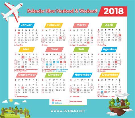 Kalender 2018 Indonesia Libur Nasional Kalender 2018 Indonesia Beserta Liburan Kejepit A