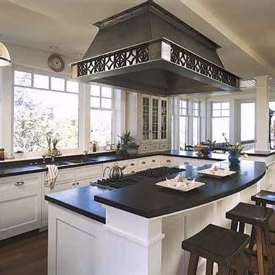 kitchen island stove different counter heights kitchen island design ideas