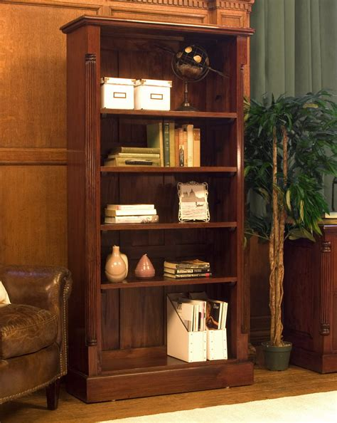 living room with bookcase chateau solid mahogany furniture large living room office bookcase ebay
