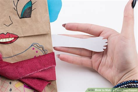 How To Make A Paper Puppet - 3 ways to make a paper bag puppet wikihow