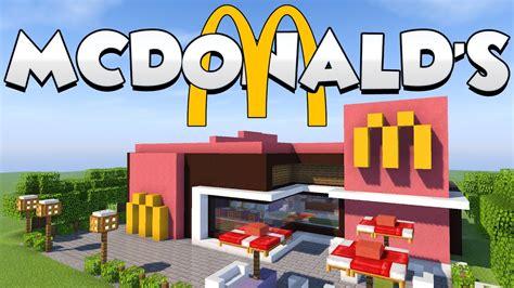 Su Minecraft by Come Costruire Un Mcdonald S Su Minecraft