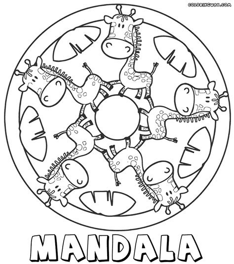 kid coloring mandala coloring pages for coloring pages to